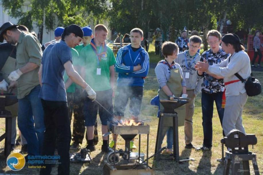 Фото: мастер-классы в Балтийском Артеке 6 июля