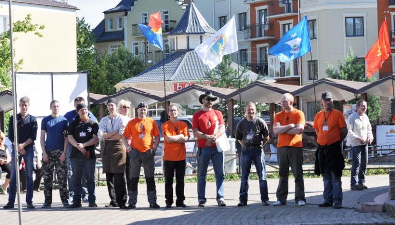 Приветствие фестивалю президента Союза кузнецов России