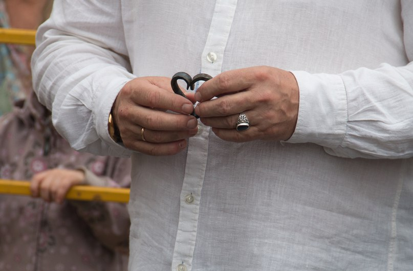 Обряд кузнечного венчания